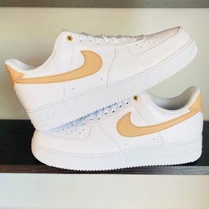 Nike Air Force 1 PRM White Vachetta Tan